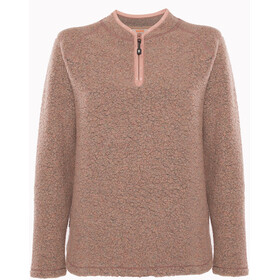 Varg Dragö Woll Pullover Damen burned pink